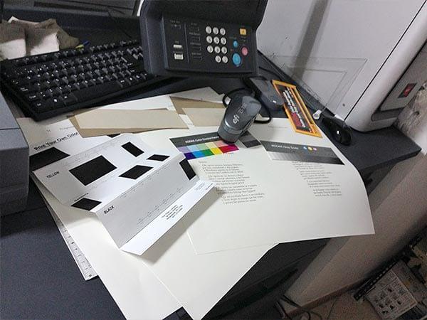 Configuración perfil de color del quijote del Toboso
