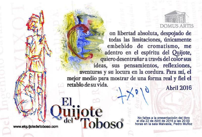 Presentacion el quijote del toboso