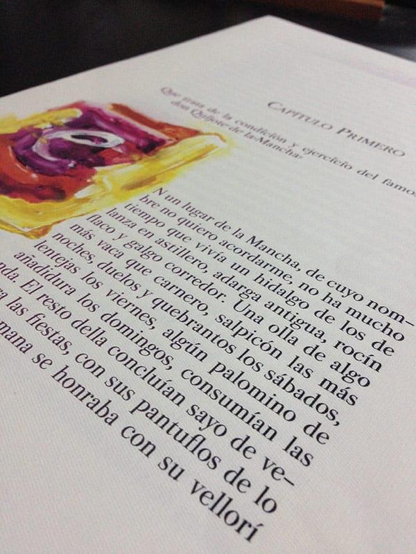 Capitulares edicion especial el quijote del toboso